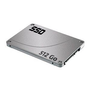 Passage en disque dur SSD 512 Go